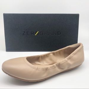 New ZEROGRAND Cole Haan Ballet Flat size 8 Leather
